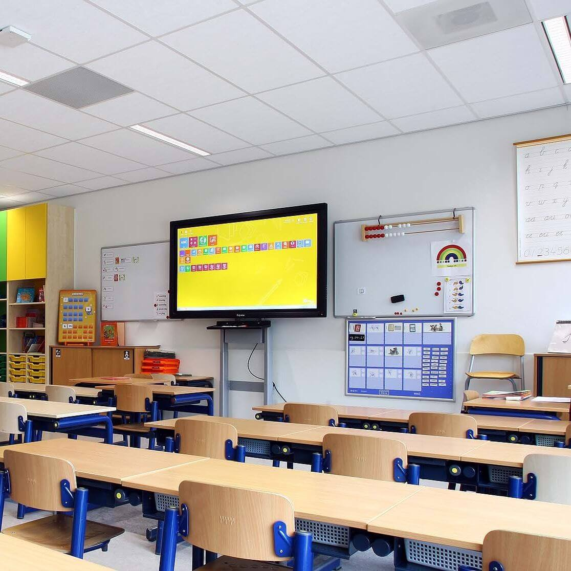 Schools<em>Learn and perform better with AMMANU lighting solutions</em>
