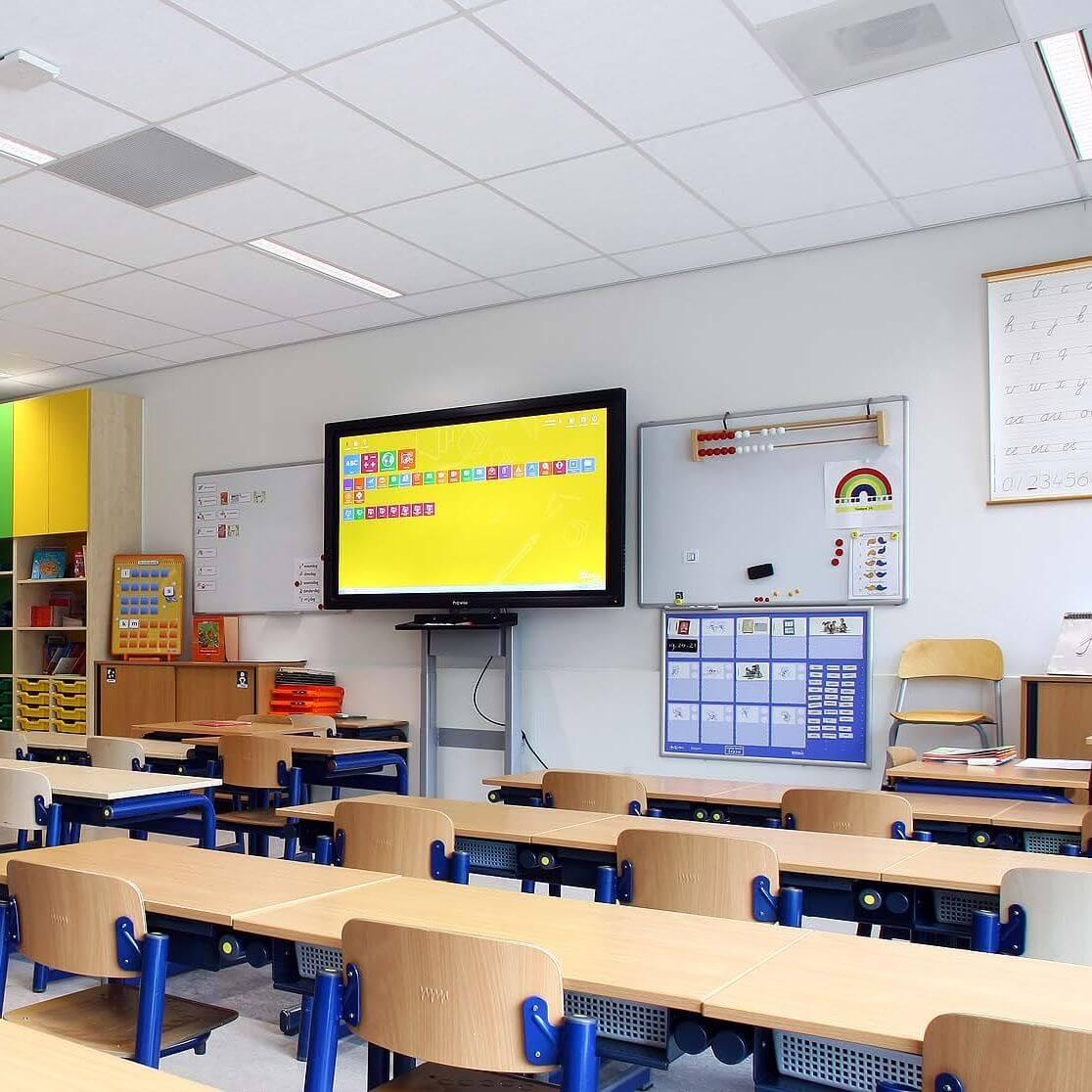 Onderwijs<em>Beter leren en presterenmet AMMANU LED-oplossingen</em>