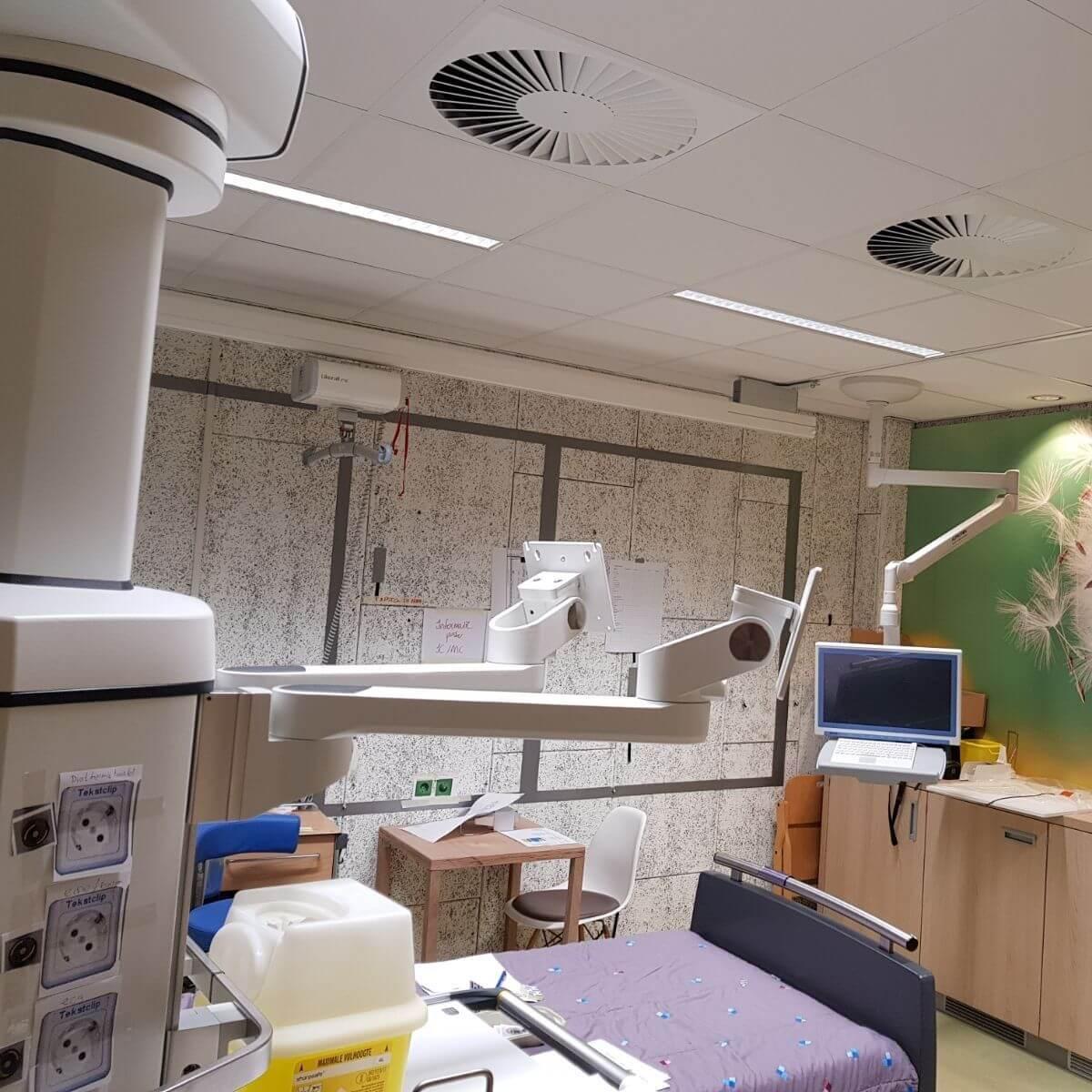 Ziekenhuizen<em>Biodynamisch licht in een dynamische zorgomgeving: een beter en sneller herstel!</em>